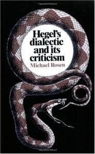 Hegel's Dialectic and its Criticism
