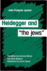 Heidegger and ''the jews''