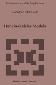 Henkin-Keisler Models