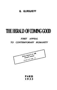 Herald of Coming Good