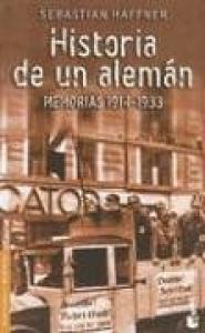 Historia de un Aleman: Memorias 1914-1933