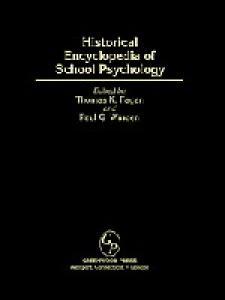 Historical Encyclopedia of School Psychology