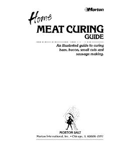 Home Meat Curing Guide