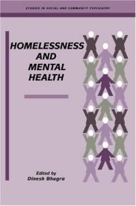 Homelessness and Mental Health (Studies in Social and Community Psychiatry)