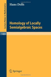 Homology of Locally Semialgebraic Spaces
