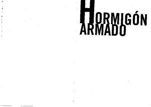 Hormigon Armado: Basada en la EHE Ajustada al Codigo Modelo y al Eurocodigo  Spanish