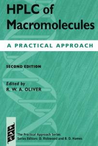 HPLC of Macromolecules, a Practical Approach