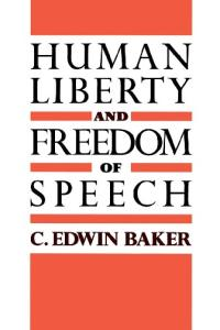 Human Liberty and Freedom of Speech