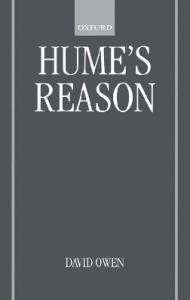 Hume's Reason (Oxford Philosophical Monographs)