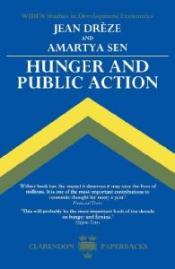 Hunger and Public Action (Wider Studies in Development Economics)