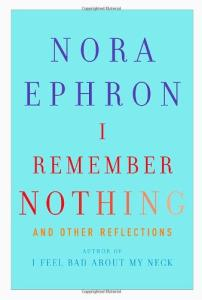 I Remember Nothing: and Other Reflections