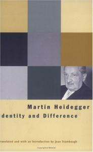 Identity and Difference (Works   Martin Heidegger)