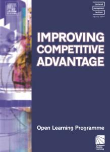 Improving Competitive Advantage CMIOLP (CMI Open Learning Programme)