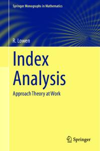 Index Analysis: Approach Theory at Work