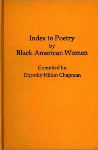 Index to Poetry by Black American Women: (Bibliographies and Indexes in Afro-American and African Studies)