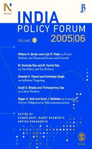 India Policy Forum 2005-06