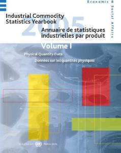 Industrial Commodity Statistics Yearbook, 2005: Production Statistics (1996-2005)