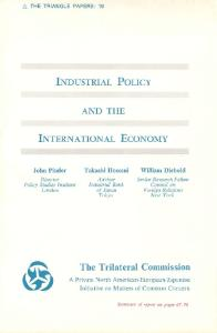 Industrial Policy and the International Economy