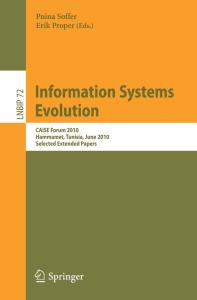 Information Systems Evolution