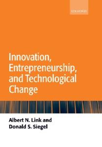 Innovation, Entrepreneurship, and Technological Change