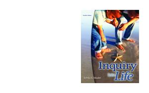 Inquiry into Life