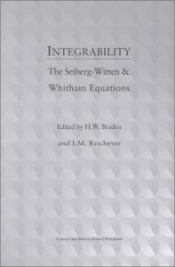 Integrability: The Seiberg-Witten and Whitham equations
