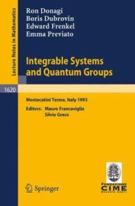 Integrable Systems and Quantum Groups