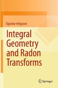 Integral geometry and Radon transforms