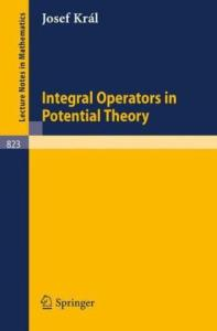 Integral Operators in Potential Theory