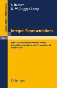 Integral Representations