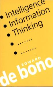 Intelligence, Information, Thinking