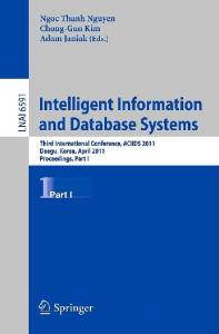 Intelligent Information and Database Systems, Part I - ACIIDS 2011