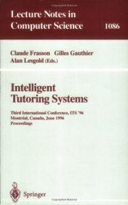 Intelligent Tutoring Systems: Third International Conference, ITS'96, Montreal, Canada, June 12-14, 1996. Proceedings