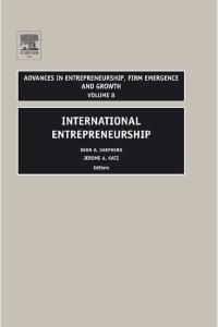 International Entrepreneurship (Volume 8)