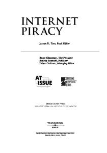 Internet piracy