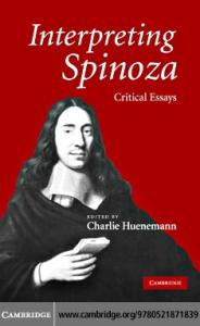 Interpreting Spinoza: Critical Essays