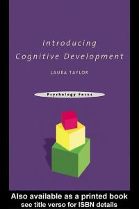 Introducing Cognitive Development (Psychology Focus)
