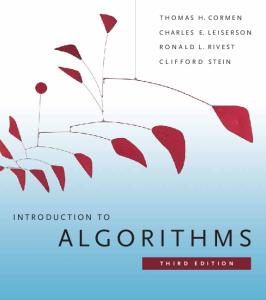 Introduction to Algorithms (Third Edition)