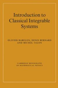 Introduction to classical integrable systems