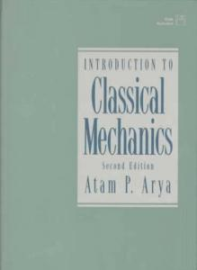 Introduction to Classical Mechanics (