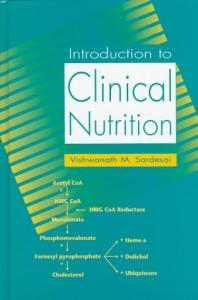 Introduction To Clinical Nutrition