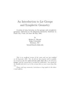 Notes on Differential Geometry - Download link