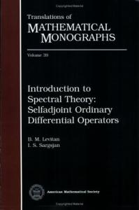 Introduction to Spectral Theory: Selfadjoint Ordinary Differential Operators