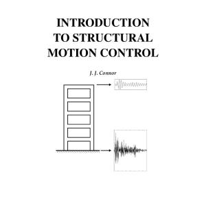Introduction to Structural Motion Control