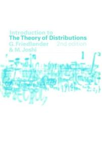 Introduction to the theory of distributions