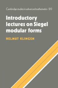 Introductory lectures on Siegel modular forms