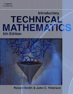 Introductory Technical Mathematics, 5th Edition