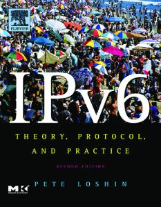 IPv6. Theory, Protocol and Practice