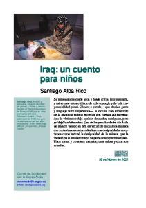 Iraq, un cuento para ninos