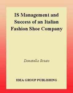 Is Management and Success of an Italian Fashion Shoe Company